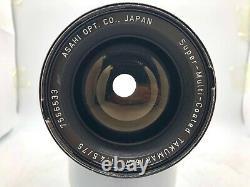 EXC+5Pentax 6x7 67 Film Camera + TTL Finder + SMC T 75mm F4.5 Lens From Japan