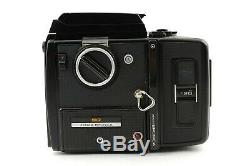 EXC+5 BRONICA SQ Waist Level + ZENZANON-S 80mm f2.8 150mm f3.5 Lens from Japan