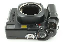 EXC+5 Mamiya 7 II Black 6x7 Film Camera + N 80mm f/4 L Lens From Japan #F59