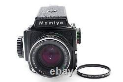 EXC+5 Mamiya M645 Medium Format Body + Sekor C 80mm f/2.8 Lens From Japan 8540