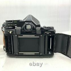 EXC+5 Pentax 6x7 67 TTL Film Camera with SMC T 105mm f2.4 Lens From JAPAN 703
