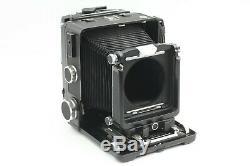 EXC+5 Wista 45D 45 D Black Large Format + Nikkor W 135mm f/5.6 Lens from JAPAN