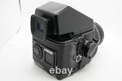 EXC+5 Zenza Bronica GS-1 6x7 PG 100mm f/3.5 MF Lens AE Finder with Strap Japan