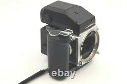 EXC+++++ BRONICA ETR Silver AE-II Finder with Zenzanon MC 75mm f/2.8 Lens JAPAN