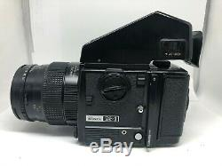 EXC+++++ BRONICA GS-1 AE Finder 120FB + PG 110mm F4 Macro Lens From Japan 0108