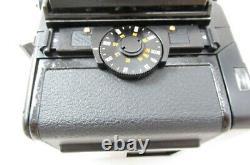 EXC+Bronica SQ Medium Format Film Camera with Zenzanon S 80mm Lens Japan #2856