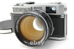EXC+++++Canon 7 35mm Rangefinder Film Camera with 50mm f/0.95 Lens From JAPAN