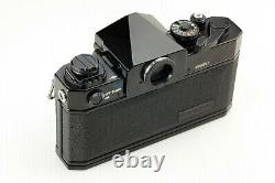 EXC++++ Canon F-1 35mm SLR Film Camera with New FD NFD 50mm f1.4 Lens From JAPAN