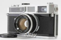 EXC+++++ Canon Model 7 Camera with 50mm f1.8 Lens Leica L39 from JAPAN 0675AB
