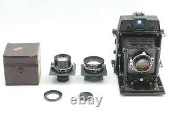 EXC+++++ HORSEMAN VH-R + 3Lens 105mm F4.5 150mm F5.6 180mm F5.6 From Japan 217