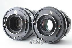 EXC++++Mamiya RB67 Pro S Film Camera Medium Format 2 Lens WL FINDER from Japan
