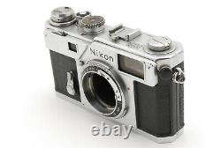 EXC+++++ Nikon S3 Rangefinder camera with NIKKOR-S 5cm f/1.4 Lens From JAPAN