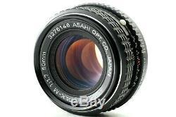 EXC+++PENTAX MX BLACK 35mm SLR Film Camera With SMC Pentax-M 50mm F/1.7 Lens JPN
