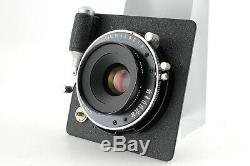 EXC+++ Topcon Horseman VH-R 75mm f/5.6 Lens 8EXP 120 6x9 Film Back From Japan