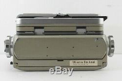 EXC+++ WISTA 45D 4x5 Large Field Camera Brown + FUJINON W 135mm f/5.6 Lens