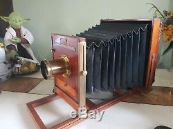 Eastman Dry Plate & Film Co. 8x10 interchangeable view Camera with2 lenses KODAK