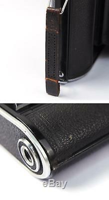 Ex+ Voigtlander Bessa II + Color-Heliar 105mm f/3.5 lens 6x9 rangefinder 105/3.5