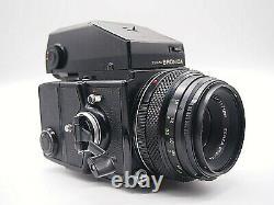 Exc +3 Zenza Bronica ETR C ETRC with Zenzanon MC 75mm f/2.8 Lens from JAPAN