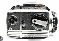 Exc+3 Zenza Bronica S Medium Format Film Camera with 75mm F2.8 Lens From JAPAN