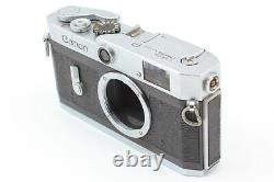 Exc+4 Canon P Rangefinder 35mm Film Camera L39 Lens 50mm 1.8 From JAPAN #205