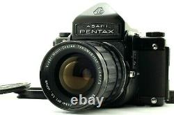 Exc+5Pentax 6x7 67 Eye Level Finder with TAKUMAR 6x7 75mm f/4.5 Lens from JAPAN