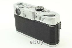 Exc+5 Canon Model 7 Rangefinder 50mm f1.4 Leica L39 Mount Lens from japan #772