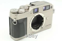 Exc+5 Contax G1 Green Label Film Camera + 28mm F/2.8 Lens + GD-1 from Japan
