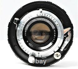 Exc+5 Mamiya Press Film Camera + Sekor 90mm f3.5 Lens 6x9 Film Back From JAPAN