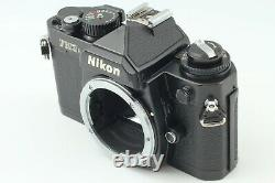 Exc+5 Nikon FM3A Black 35mm Film Camera with Ai-s Ais 50mm f/1.8 Lens From Japan