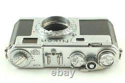 Exc+5 Nikon S2 Rangefinder Film Camera with Nikkor-H 50mm f/ 2 Lens from JAPAN