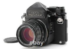 Exc+5 PENTAX 6x7 67 TTL Finder Mirror Up with 105mm f2.4 Lens From JAPN