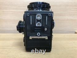 Exc+5 Zenza Bronica EC Black Medium Format Camera Nikkor P 75mm F/2.8 Lens JP