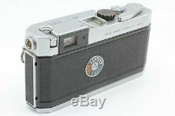 Exc+++++ Canon P Rangefinder Film Camera + 50mm f/1.8 Lens From Japan #1752