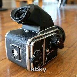 Exc+ Hasselblad 500cm Camera 80mm Cf T Lens A12 Acute Matte Focusing Screen