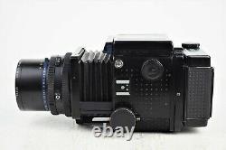 Exc+++ MAMIYA RZ67 Pro Body Sekor Z 50mm f/4.5 W Lens 120 Film Back From Japan