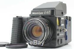 Exc+++++ Mamiya 645 Super Film Camera with Sekor C E 70mm F/2.8 Lens #1080