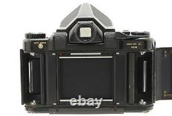 Exc Pentax 6x7 67 Medium Format Camera with Wood Grip 135mm f/4 Lens from JAPAN