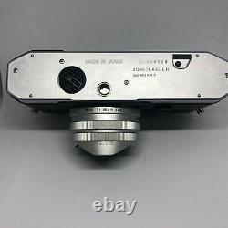 Exc+++ Voigtlander Bessa l Film Camera + 15mm Lense Super Wide-Heliar