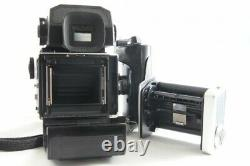 Exc++ Zenza Bronica ETR SP withZenzanon MC 75mm f/2.8 AE Finder and Grip #1214