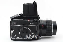 Excellent+5 MAMIYA M645 Sekor C 55mm f/2.8 Lens Waist Level Finder 120 Back Set