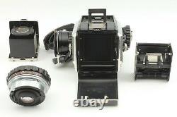 Excellent+5 Zenza Bronica S2 Black + Nikkor P 75mm f/2.8 Lens from JAPAN