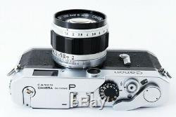Excellent++ Canon P 35mm Rangefinder Film Camera with 50mm f/1.4 Lens from Japan