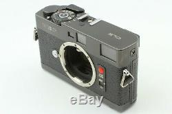 Excellent+++++ /HoodMinolta CLE + M-Rokkor QF 40mm f/2 Lens from JAPAN #547