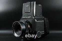 Excellent + MAMIYA RB67 Pro with Sekor C 127mm F/3.8 Lens Film Back Japan