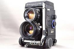 =Excellent= Mamiya C330 Pro S TLR & Sekor DS 105mm f/3.5 Blue Dot Lens 163