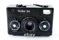 Excellent+ Rollei 35 Black Tessar 40mm f/3.5 Lens 35mm Film Camera From Japan