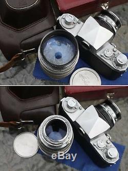Film tested Miranda T 35mm film SLR Camera, 50mm, 135mm Lens Set