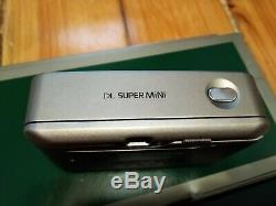 Fuji Fujifilm DL Super Mini Tiara 35mm Film Camera 28mm Cardia EBC Fujinon Lens