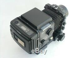 Fuji GX680 (GX680) camera, GX 100mm/f 5.6 lens, Roll film back (B/N. 4030027)
