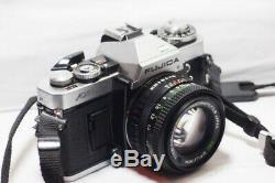 Fujica AX-5 with 50mm f1.6 lens 35mm SLR Film Camera